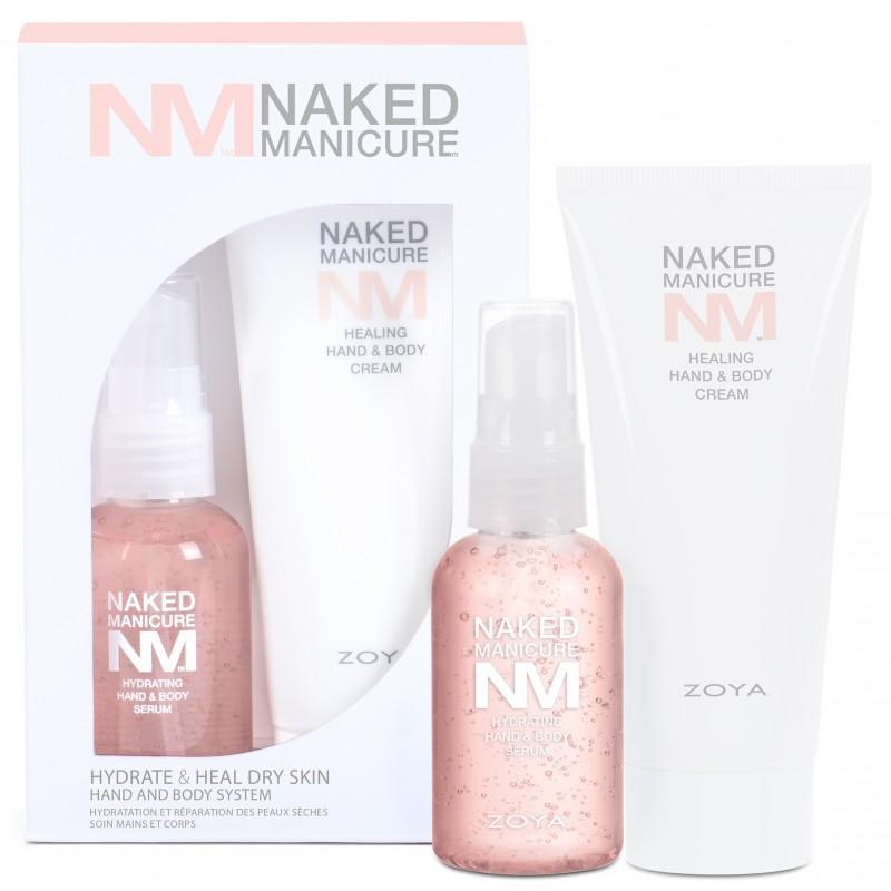 Набор Zoya Naked Manicure: Увлажняющая сыворотка и Восстанавливающий крем