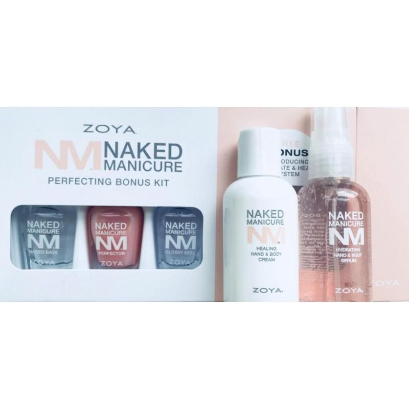 Набор Zoya Naked Manicure + Увлажняющая сыворотка и Восстанавливающий крем